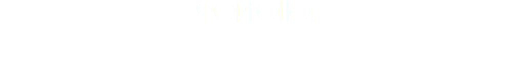 "Porfolio: A few things I've ""DONE"" that makes me cool to some, but maybe does give me some credibility, or just helps me to feel good about myself. Either way, you can see a coach is someone who knows HOW to ACHIEVE GOALS!"